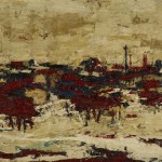 Frank Auerbach, Primrose Hill Summer Sunshine, 1964. Arts Council Collection Southbank Centre Frank Auerbach courtesy Marlborough Fine Art.