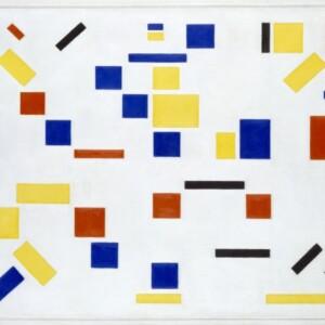 Bart van der Leck, Compositie No. 8 (1917)