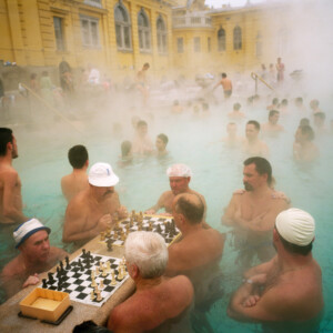 HUNGARY. Budapest. Szechenyi thermal baths. 1997. © Martin Parr / Magnum Photos. All rights reserved