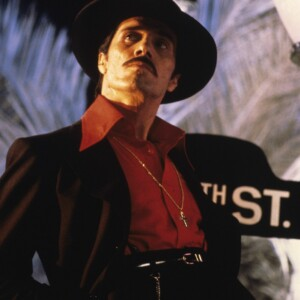 The Academy of Motion Picture Sciences: From Latin America to Hollywood Schauspieler und Regisseur Edward James Olmos als El Pachuco im Film Zoot Suit (1981, Universal Studios)