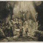 Rembrandt van Rijn, Die drei Kreuze, 1653, Rijksmuseum Amsterdam