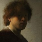 Rembrandt van Rijn, Selbstporträt, ca. 1628, Rijksmuseum Amsterdam