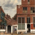 Johannes Vermeer, Straße in Delft oder Die kleine Straße, c. 1658. Amsterdam, Rijksmuseum, Geschenk von H.W.A. Deterding, London