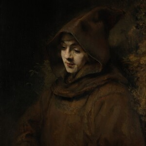 Rembrandt's Son Titus in a Monk's Habit, Rembrandt Harmensz. van Rijn, 1660, Rijksmuseum Amsterdam.
